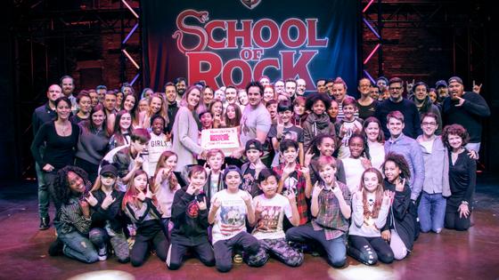 School of Rock Celebrates 500 Performances
