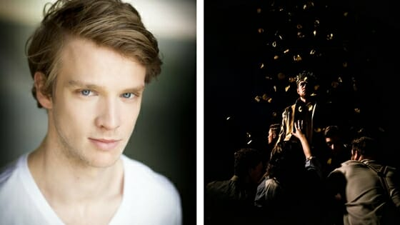 Timothy Blore cast in Edward II