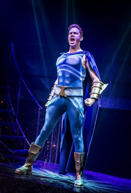 EUGENIUS! Shaun Dalton 'Tough Man'. Photo Pamela Raith