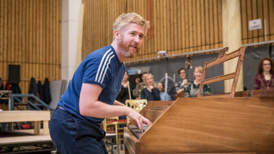 First Look_ Amadeus at The National Theatre in Rehearsal
