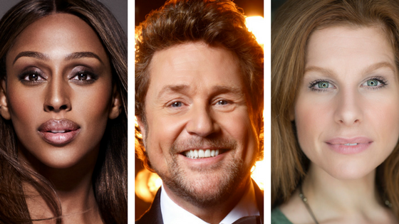 Cast of Chess, Michael Ball Alexandra Burke Cassidy Janson