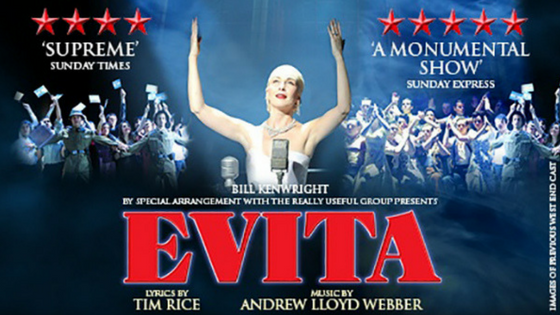 Evita Embarks on 'Rainbow Tour'