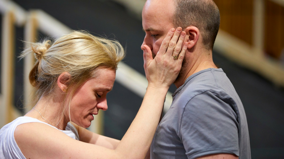 First Look Macbeth in Rehearsal at The National Theatre