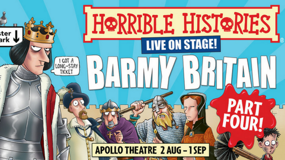 Horrible Histories Returns with Barmy Britain – Part Four