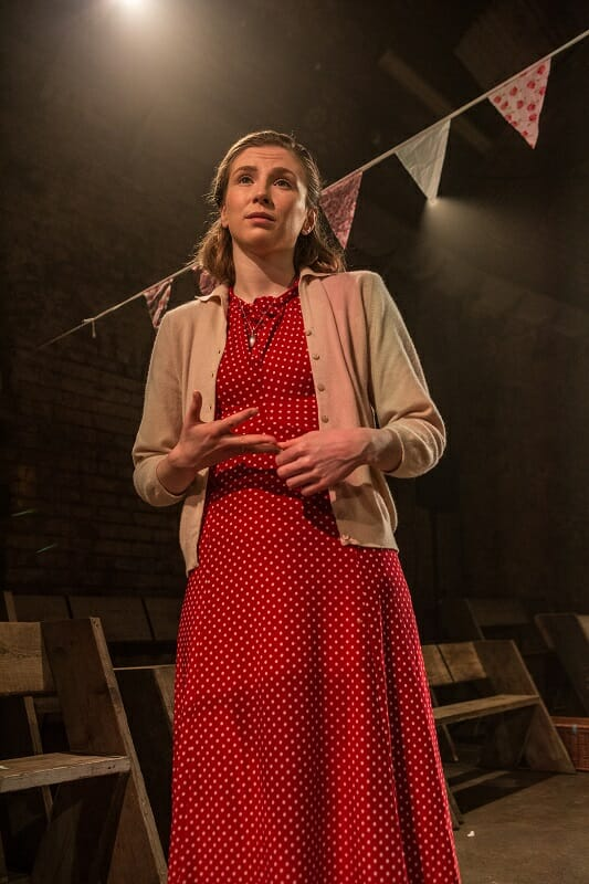 Leila Sykes in Think of England, credit of Ali Wright