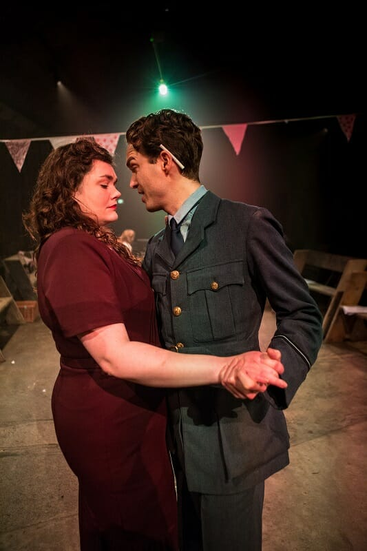 Madeline Gould and Pip Brignall in Think of England, credit of Ali Wright.