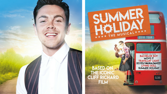 Ray Quinn Cast in Summer Holiday Tour
