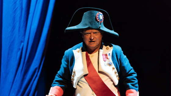 Review Napoleon Disrobed at Arcola Theatre