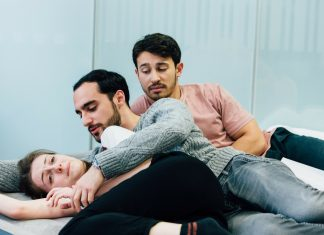 First Look_ Love Me Now at Tristan Bates Theatre in Rehearsal