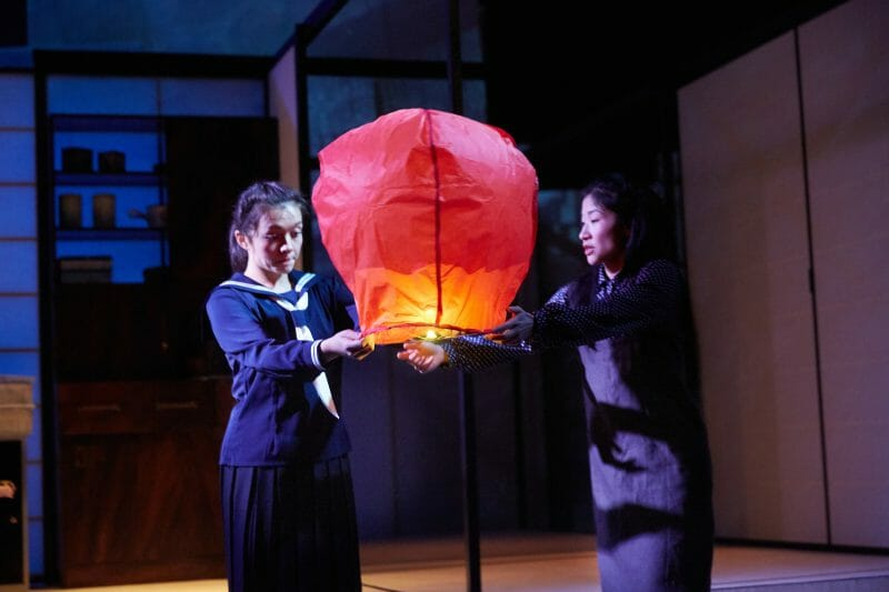 Francis Mayli McCann, Kae Alexander in The Great Wave by Francis Turnly. Photo by Mark Douet.