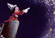 Artwork-of-Sorcerer's-Apprentice-Mickey-from-Walt-Disney's-Fantasia--Sounds-and-Sorcery