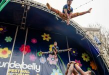 Circus Abyssinia Opens 10th Anniversary Underbelly Festival