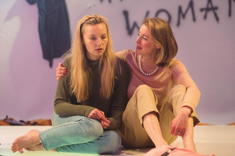 Devil With The Blue Dress, The Bunker (Kristy Phillips and Flora Montgomery) - courtesy of Helen Murray