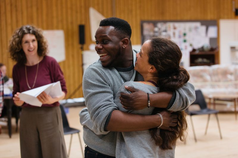 Director Roy Alexander Weise in rehearsal for Nine Night at the National Theatre (c) Helen Murray-139