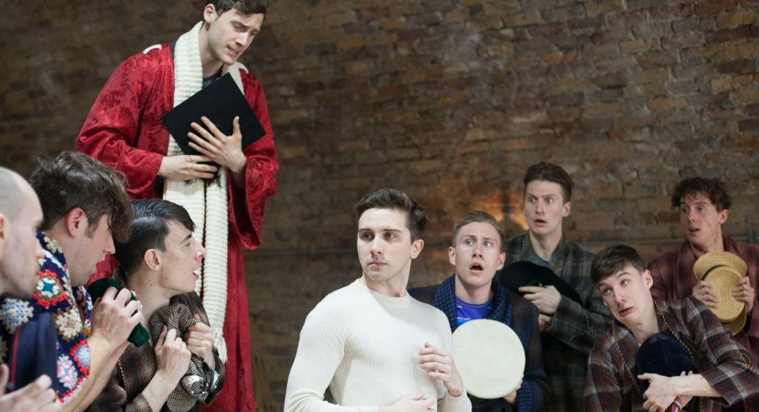 First Look_ All Male Iolanthe in Rehearsal