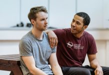 First Look_ Nightfall at The Bridge Theatre in Rehearsal