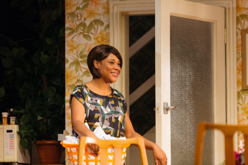 Franc Ashman as Lorraine in Nine Night at the National Theatre (c) Helen Murray 204