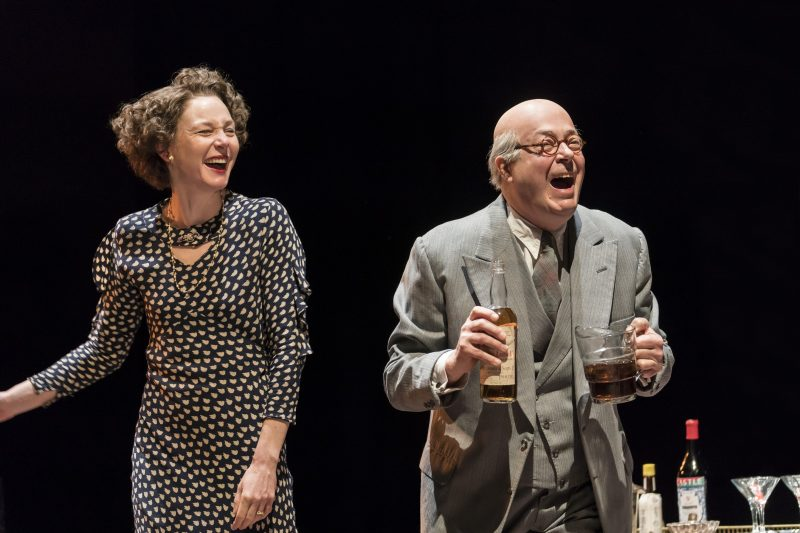 Nancy-Carroll-and-Roger-Allam-in-The-Moderate-Soprano-at-the-Duke-of-Yorks-Theatre.-Credit-Johan-Perrson