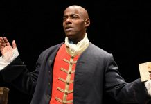 Paterson Joseph brings his one man show Sancho_ An Act Of Remembrance to Wilton's Music Hall for London Premiere