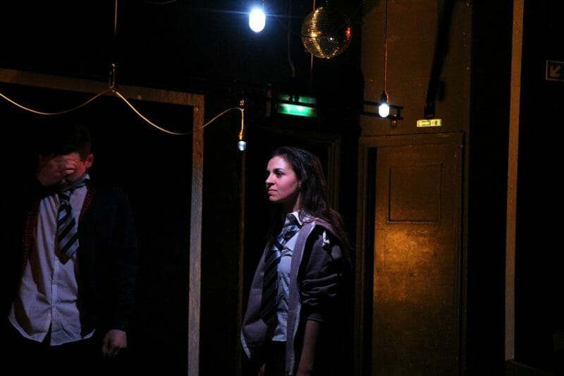 Plastic, Old Red Lion Theatre (Louis Greatorex and Madison Clare) - courtesy of Mathew Foster