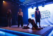 Review Devil With The Blue Dress at The Bunker Theatre