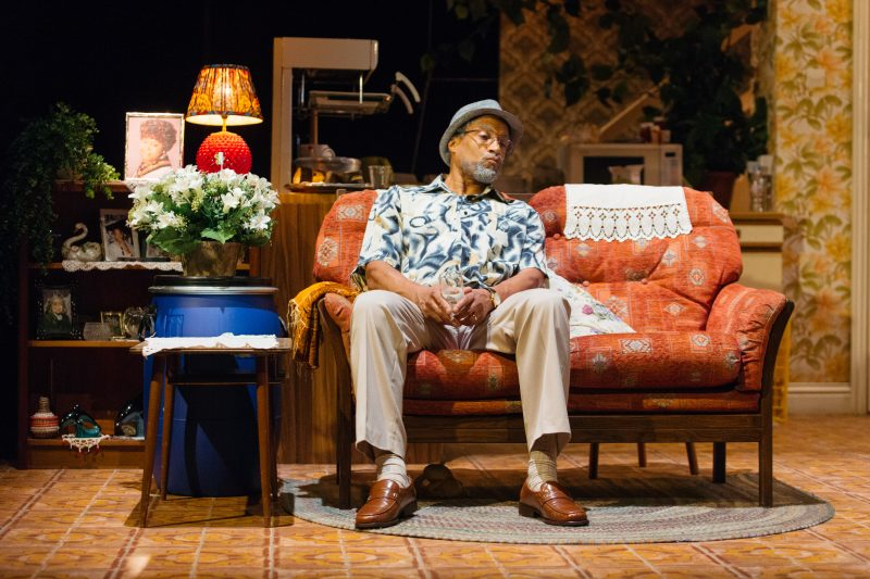 Ricky Fearon as Uncle Vince in Nine Night at the National Theatre (c) Helen Murray-964