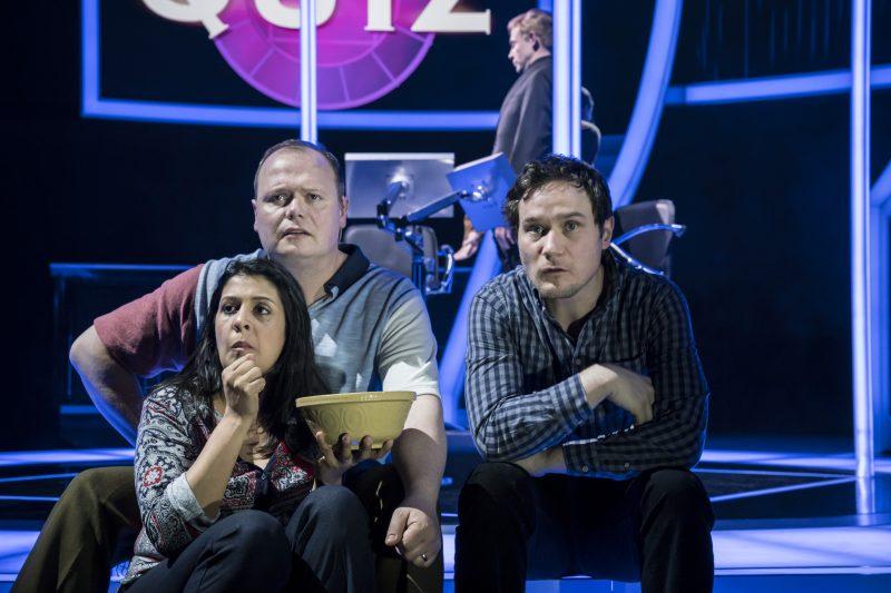 Stephanie Street (Diana Ingram), Gavin Spokes (Charles Ingram), Henry Pettigrew (Adrian Pollock). pic by Johan Persson