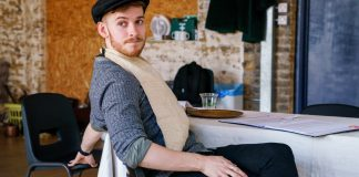 Matthew-Biddulph-in-rehearsals-for-The-Daughter-in-Law-at-Arcola