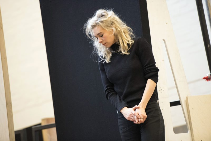 Vanessa Kirby (Julie) in rehearsals for Julie at the National Theatre (c) Richard Hubert Smith