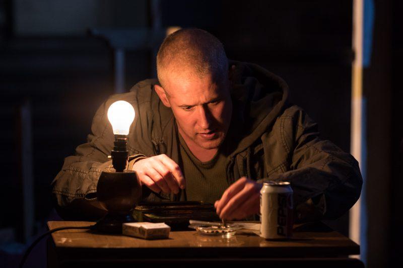 Adam Gillen (Chris Smith) - Killer Joe at Trafalgar Studios - Photographer Credit Marc Brenner (1)