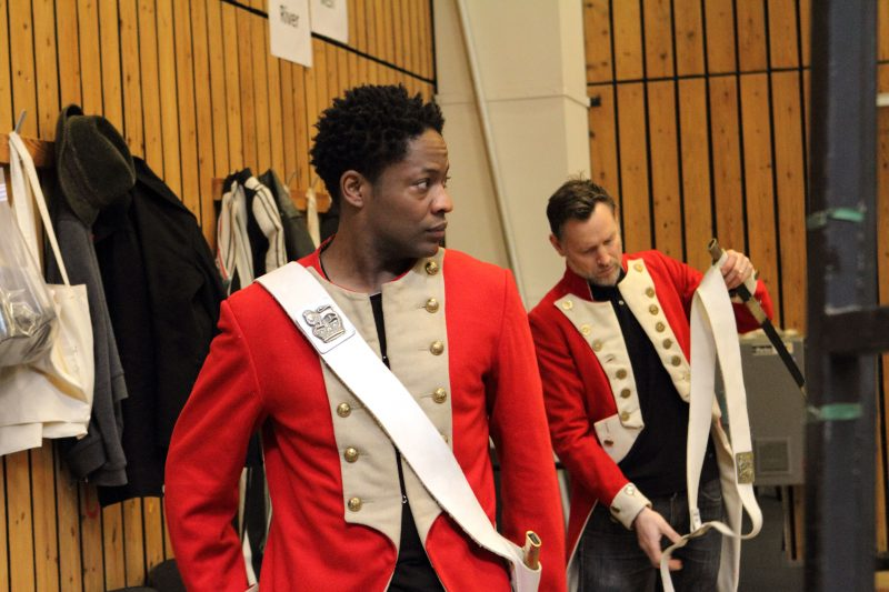 Adetomiwa-Edun-and-Rufus-Wright-in-rehearsals-for-Translations.-Image-by-Catherine-Ashmore