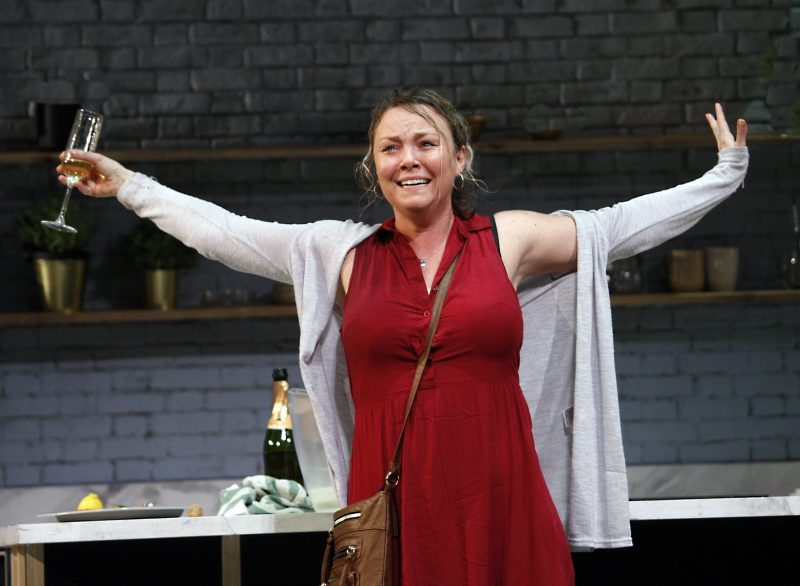 Charlie Brooks as Sally in MONOGAMY, credit Simon Annand