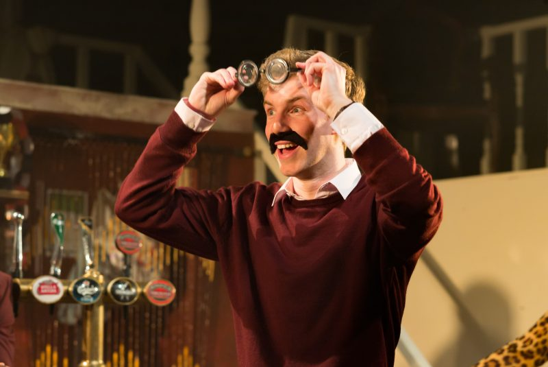 Christian James (Nick Rutter) in H.R.Haitch (Credit of Nick Rutter)