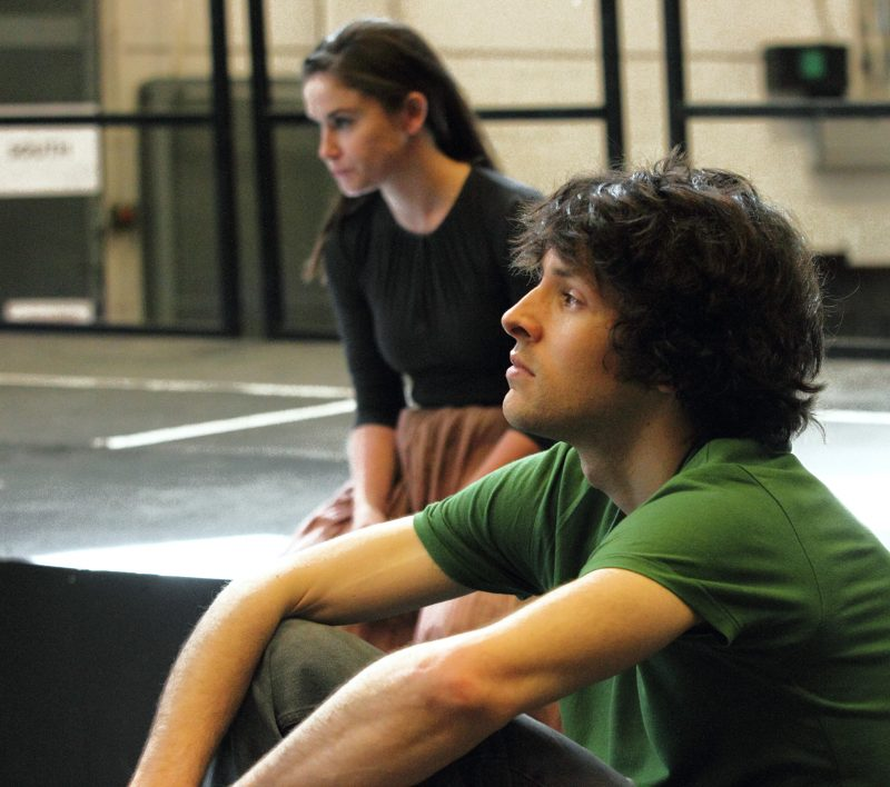 Colin-Morgan-Judith-Roddy-in-rehearsals-for-Translations.-Image-by-Catherine-Ashmore