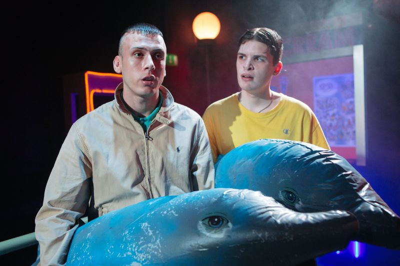 Rhys Yates (Ben) and Will Pattle (Dean) Photo credits Helen Murray