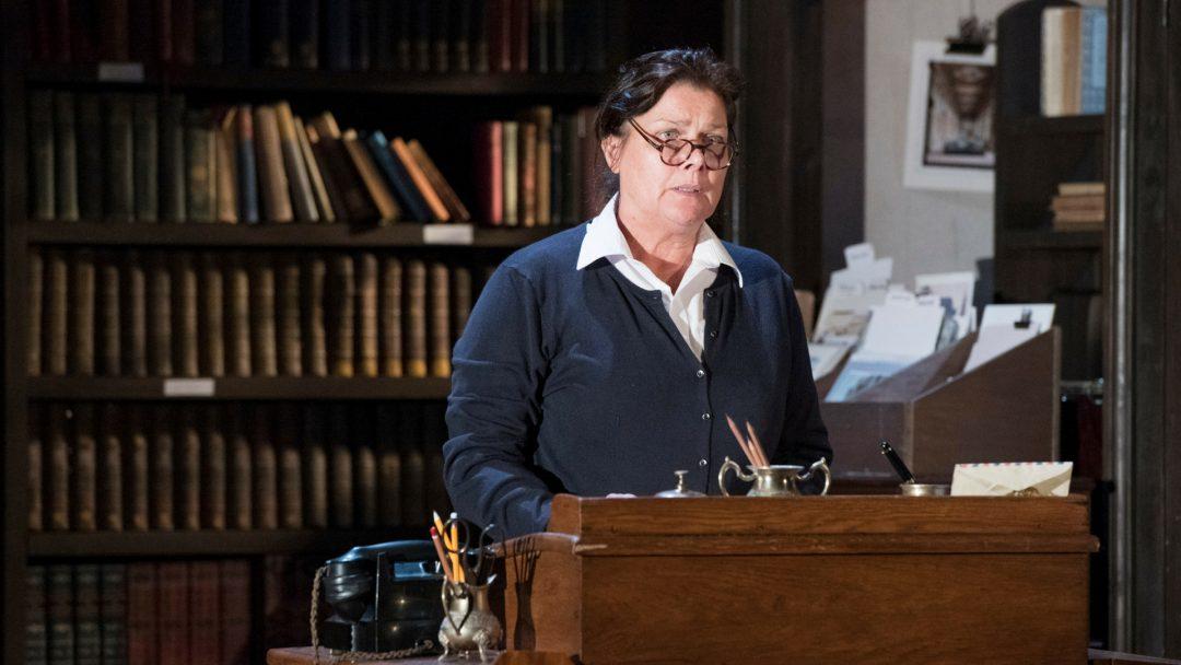 Fiona Bruce (Mrs Todd). Credit - Richard Hubert Smith
