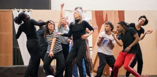 First Look_ Julie in Rehearsal at The National Theatre