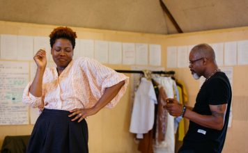 First Look_ Leave Taking in Rehearsal at The Bush Theatre