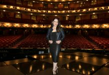 Gloria Estefan at London Coliseum for On Your Feet c. Dan Wooller