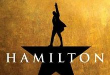 Hamilton is at the Victoria Palace Theatre