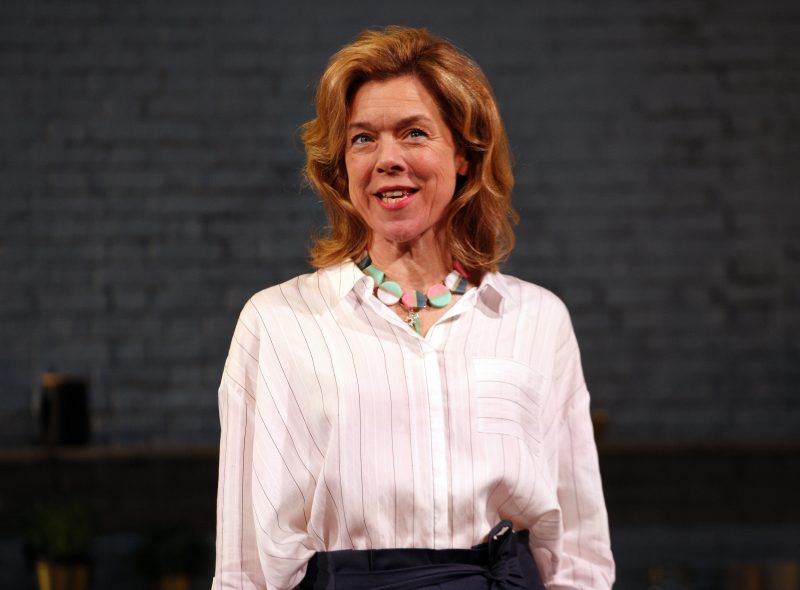 Janie Dee as Caroline Mortimer in MONOGAMY, credit Simon Annand