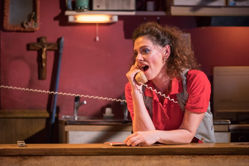Neve McIntosh (Sharla Smith) - Killer Joe at Trafalgar Studios - Photographer Marc Brenner (1)