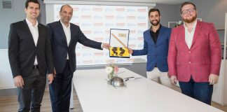 Selladoor Worldwide & PIU Entertainment Partnership - L-R Cemil Demirok (CEO - PIU), Basar Sen (Managing Partner - PIU), David Hutchinson (Executive Creative Producer - Selladoor) & Phillip Rowntree (Executive Comme