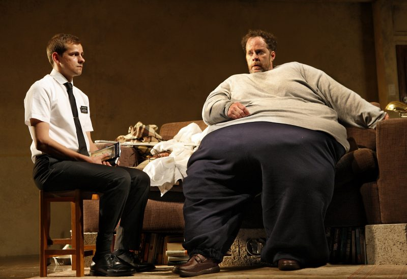 Shuler-Hensley-as-Charlie-and-Oscar-Batterham-as-Elder-in-The-Whale.-Credit-Simon-Annand