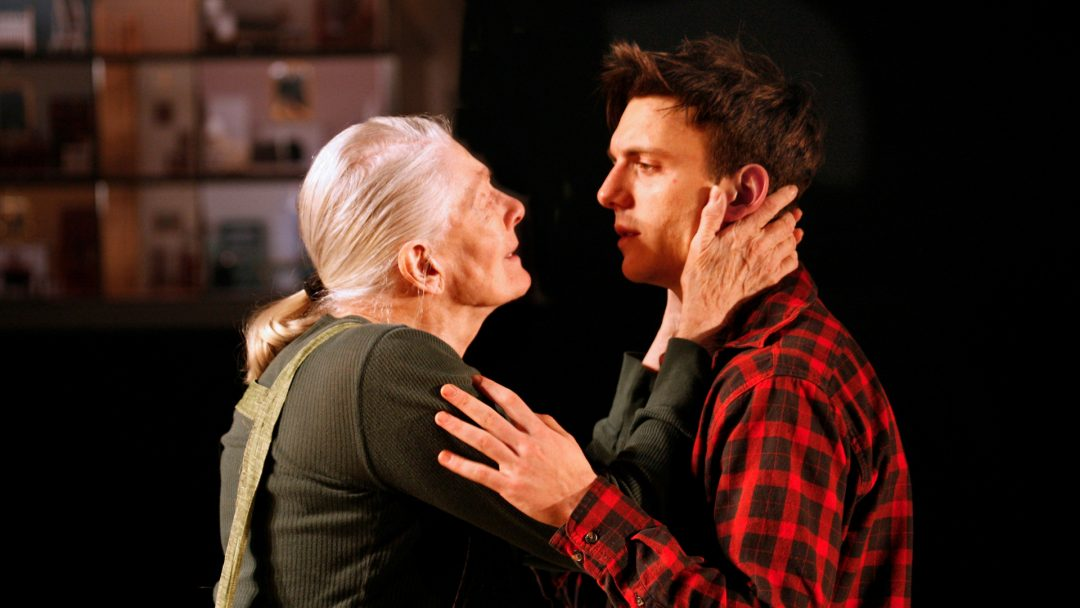 Vanessa Redgrave and Samuel H. Levine in The Inheritance. Photo by Simon Annand