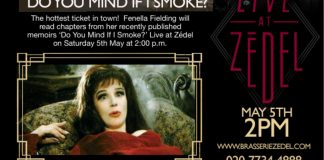 Fenella Fielding Do You Mind If I Smoke? At Live at Zedel
