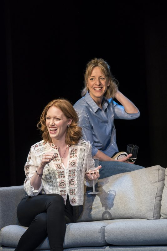 l-r-Clare-Foster-Zara-and-Claudie-Blakley-Kitty-Consent-at-the-Harold-Pinter-Theatre-Photographer-credit-Johan-Persson