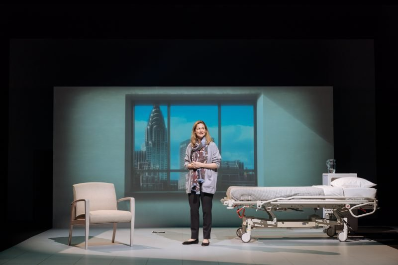 Laura Linney as Lucy Barton, photo by Manuel Harlan
