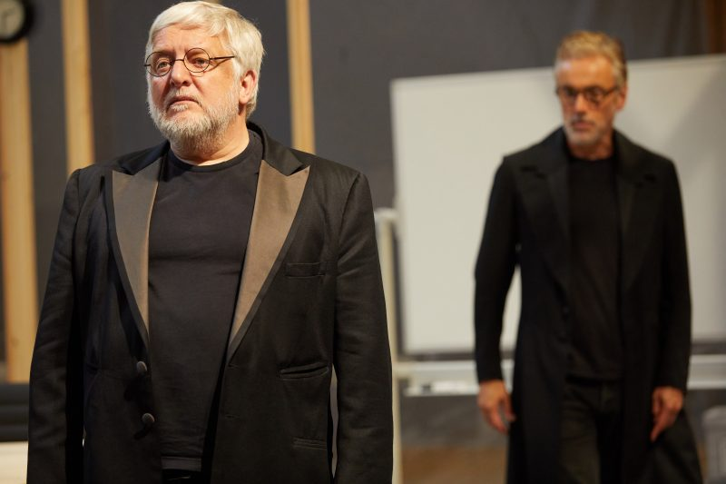 Simon Russell Beale and Ben Miles inThe Lehman Trilogy at the National Theatre
