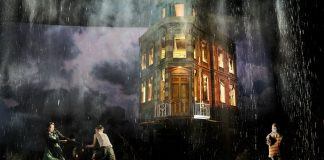 An Inspector Calls at the Playhouse Theatre. Photo by Mark Douet